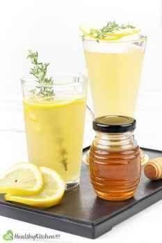 Honey and Lemon Juice Recipe