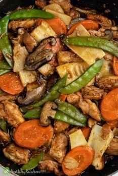How to make Moo Goo Gai Pan Recipe