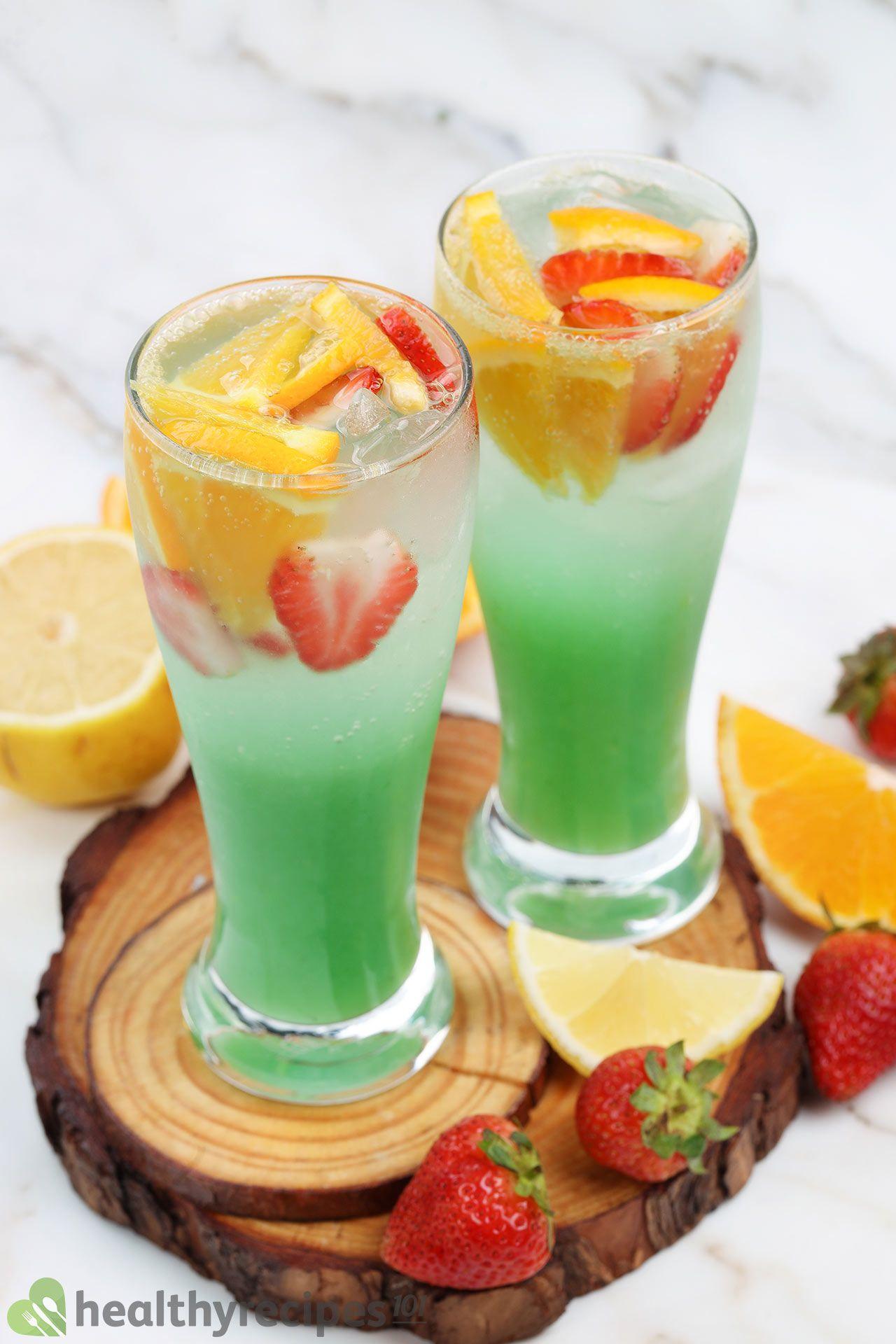 homemade green jungle juice recipe