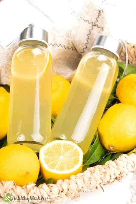 vitamin C in lemon juice