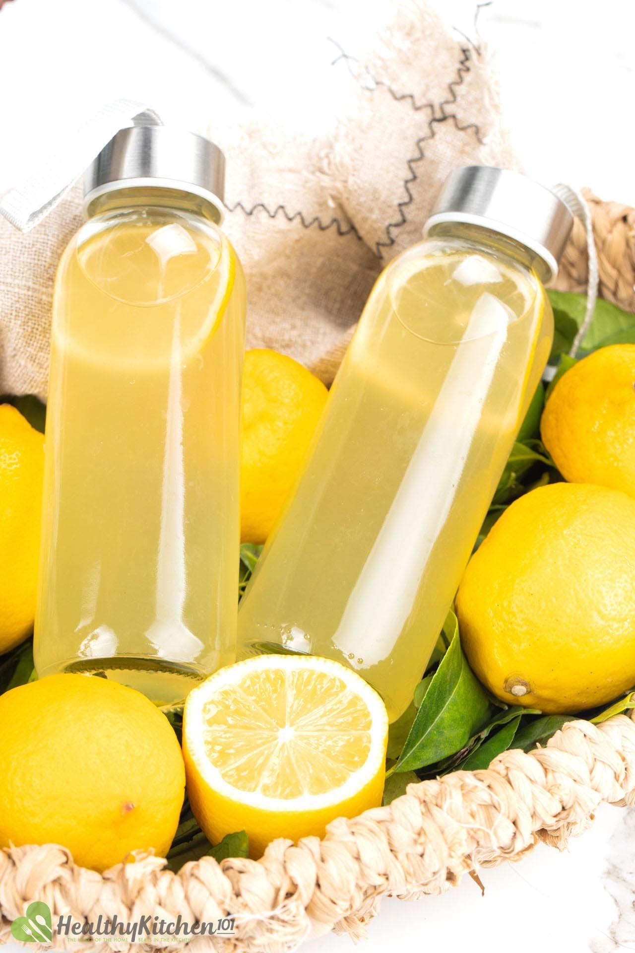 vitamin C in lemonade