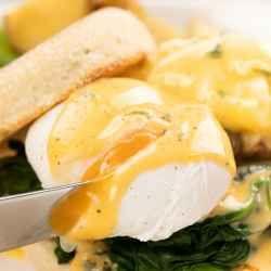 Healthy poached eggs Recipe