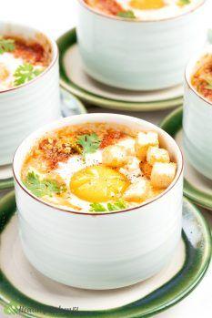Healthy Shirred Eggs Recipe