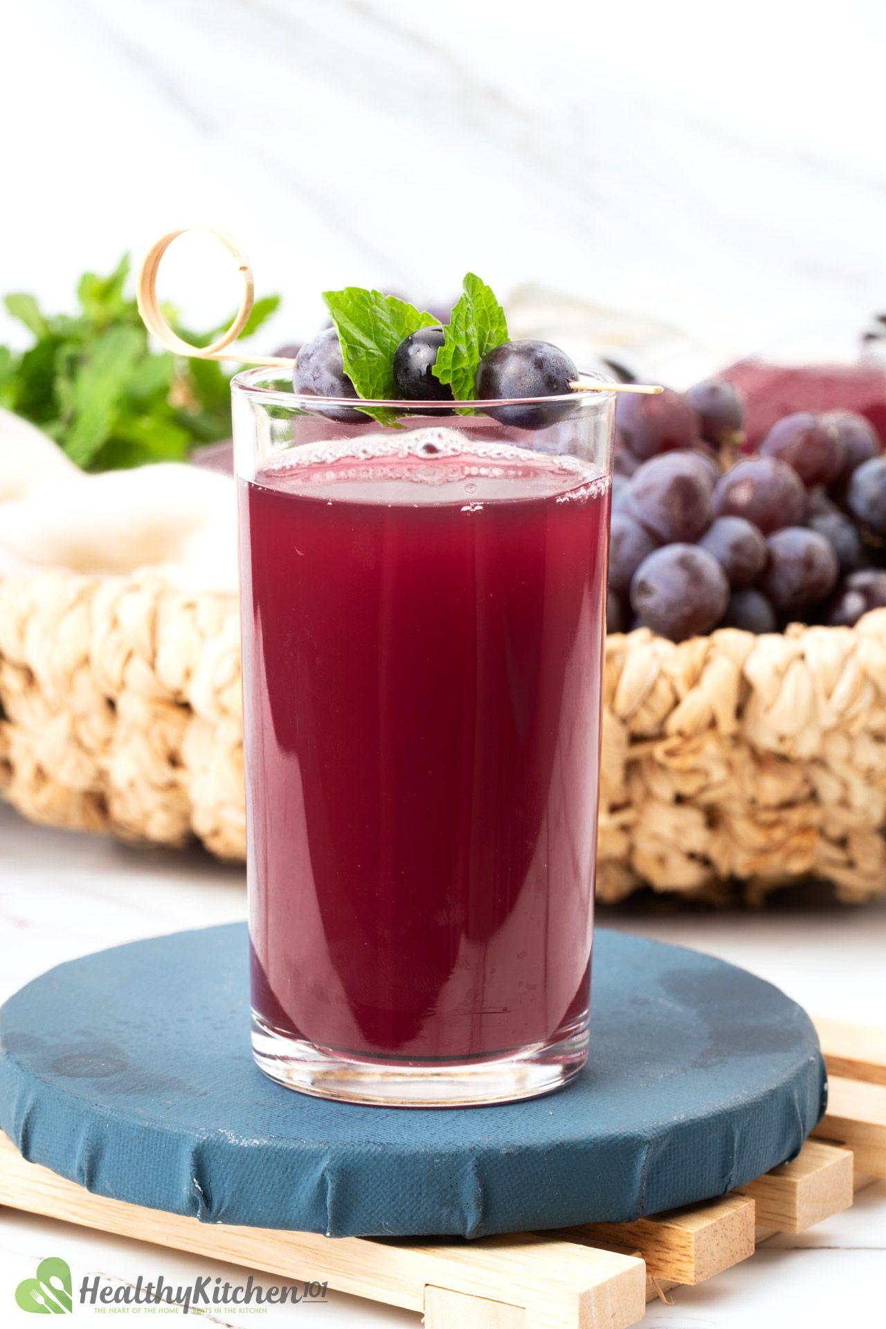 Homemade Apple Cider Vinegar and Grape Juice Recipe