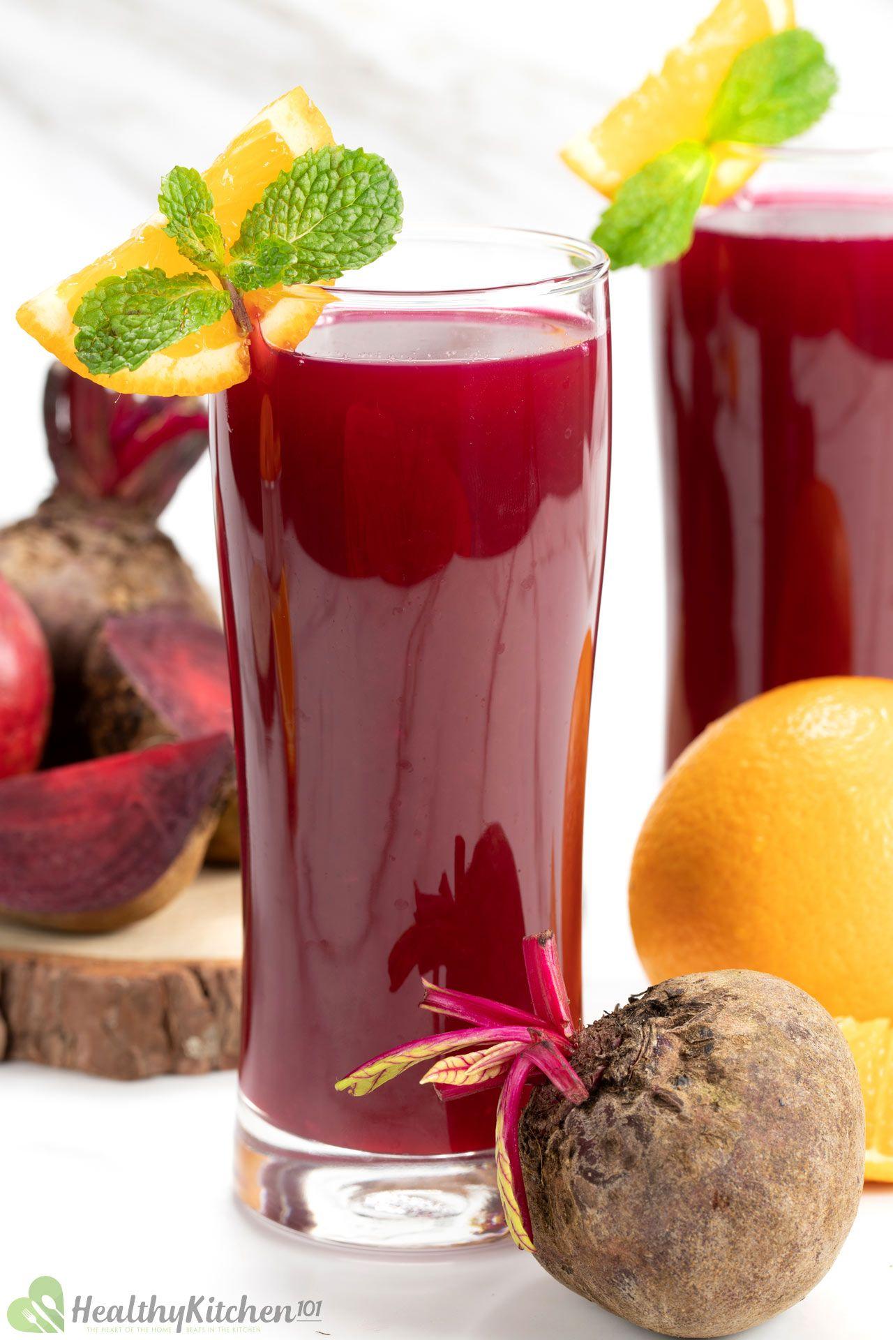 Orange Beet Juice Recipe