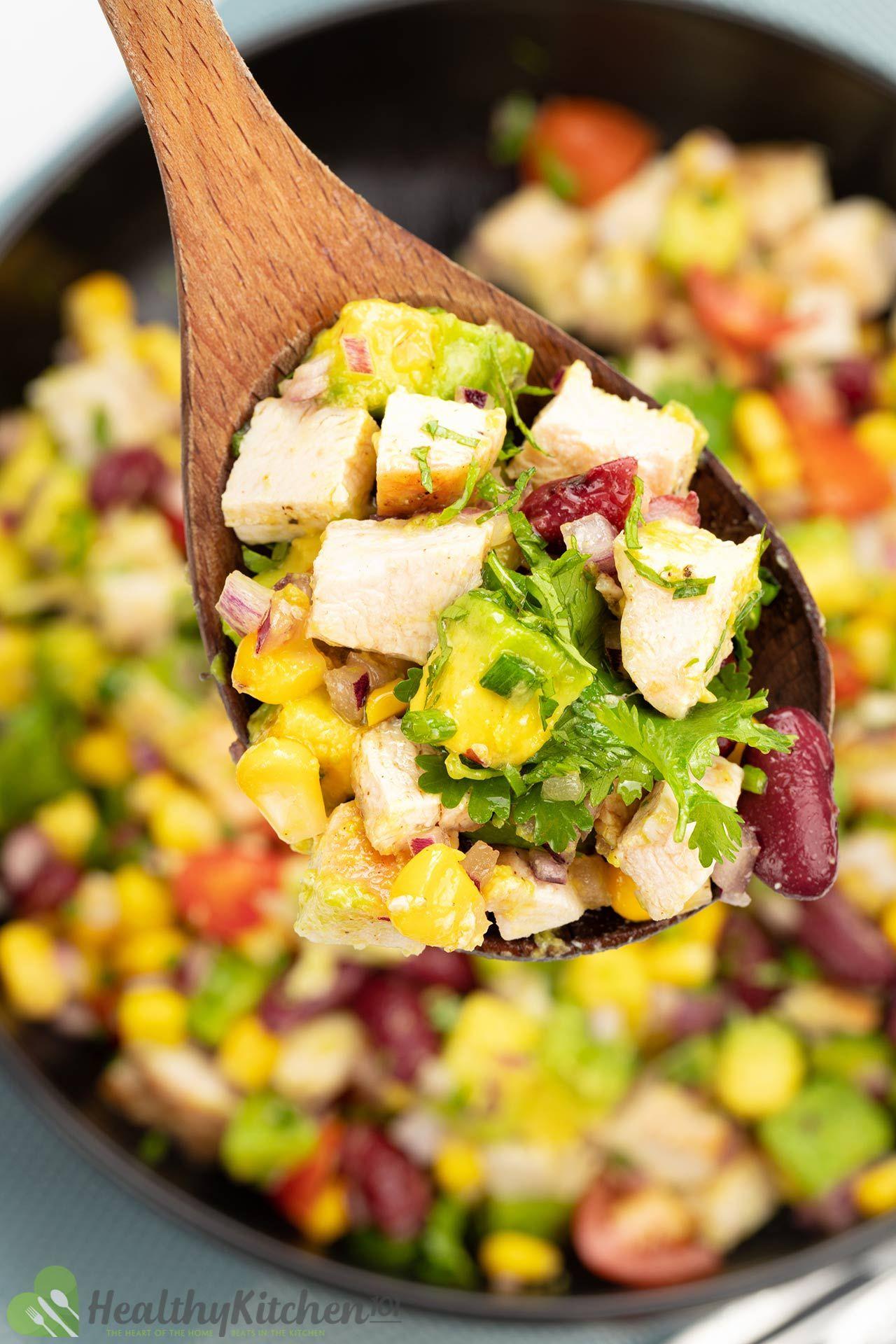 Avocado Chicken Salad Recipe