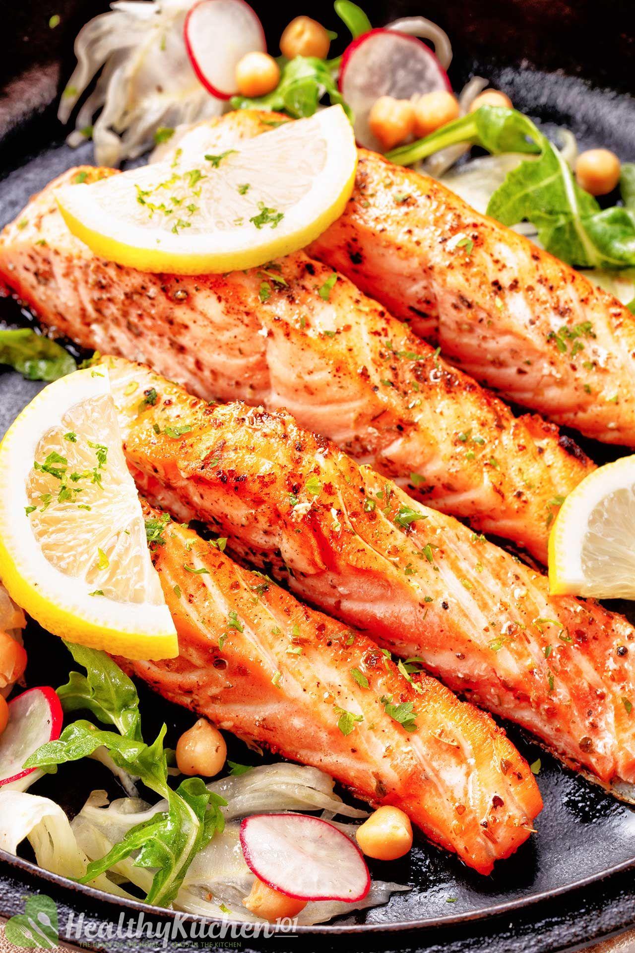 Healthy Salmon Pan Fried Recipe