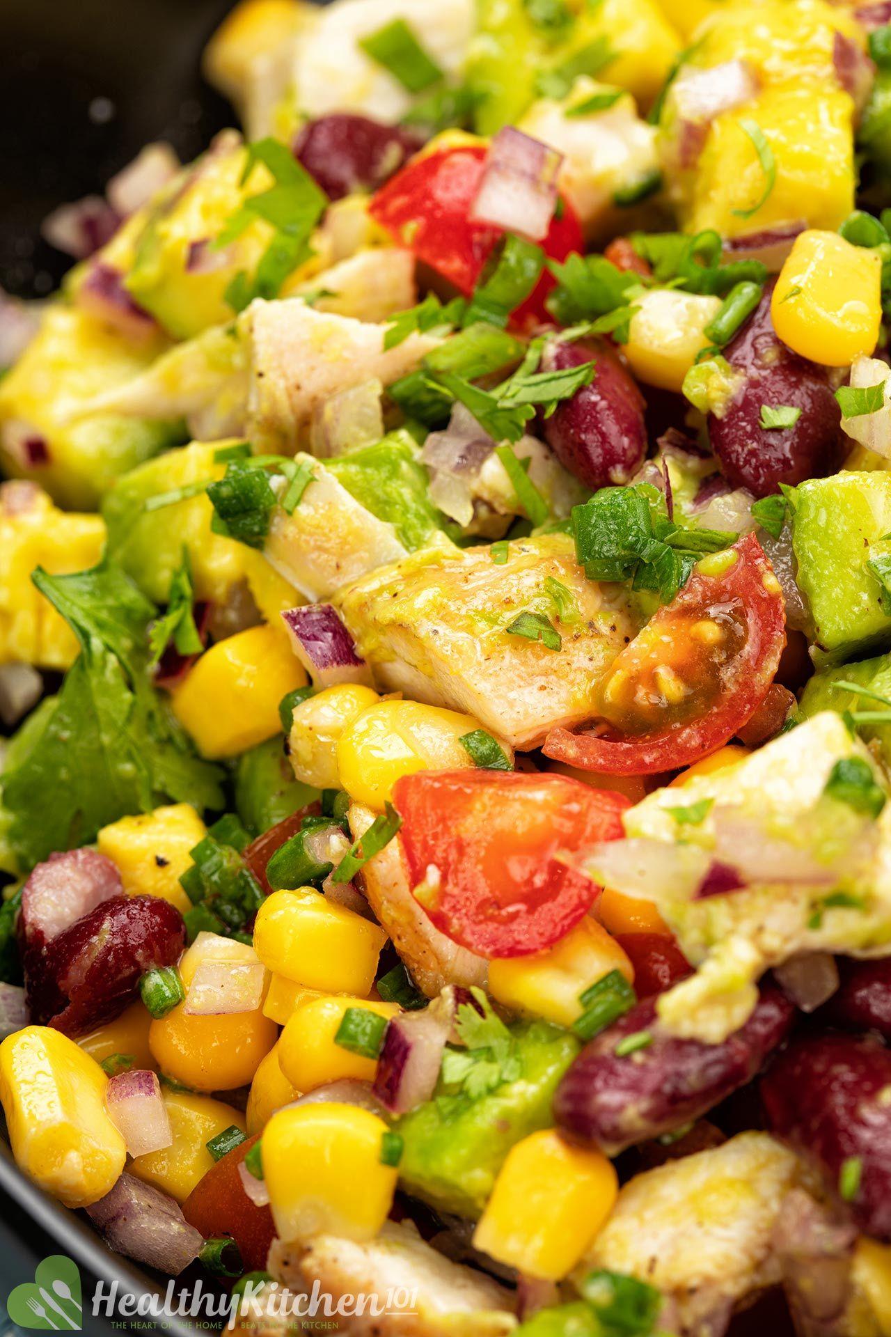 Homemade Avocado Chicken Salad Recipe