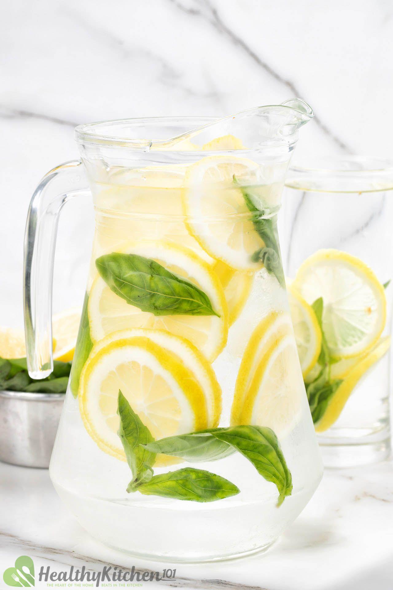 Homemade Lemon Water Recipe