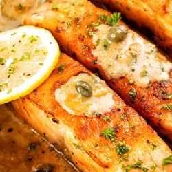 Homemade Salmon Piccata Recipe
