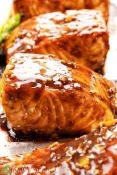 Homemade Salmon Teriyaki Recipe