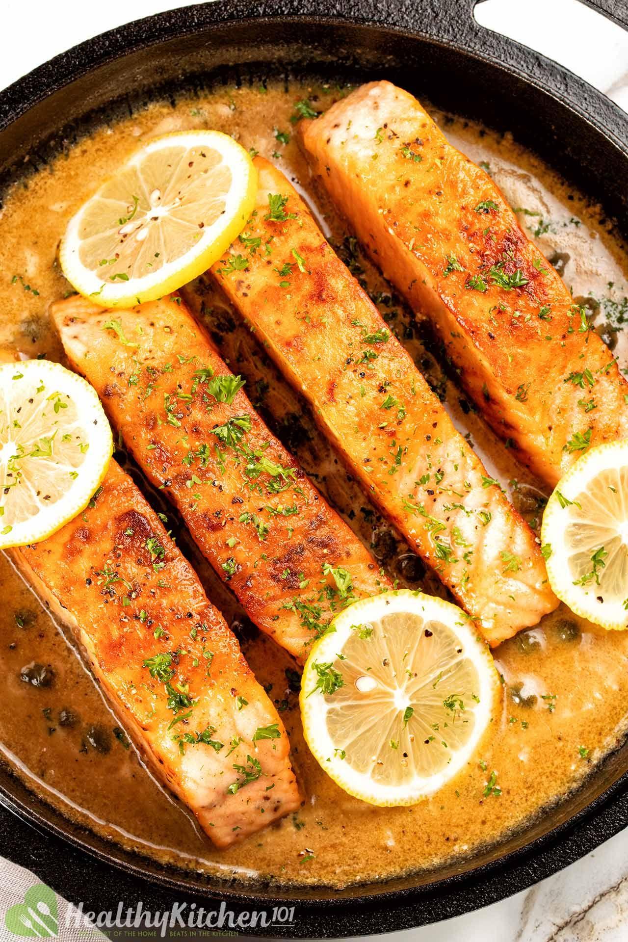 Salmon Piccata Recipe