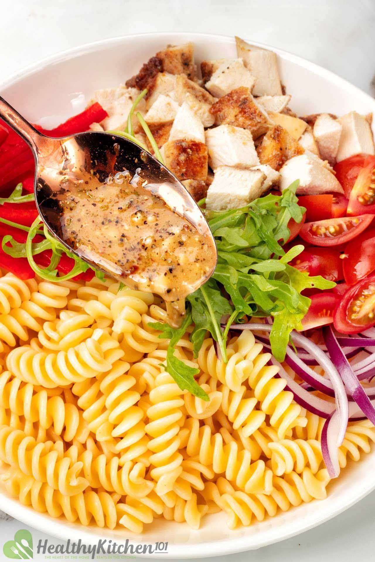 dressing for chicken pasta salad
