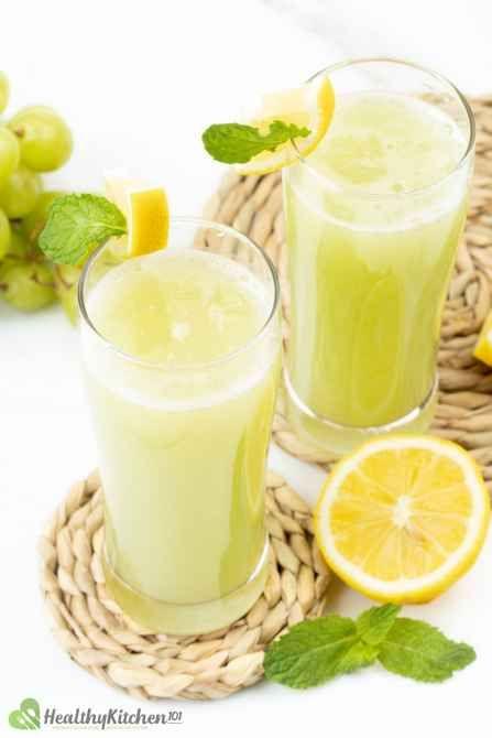 healthy green grape juice recipe