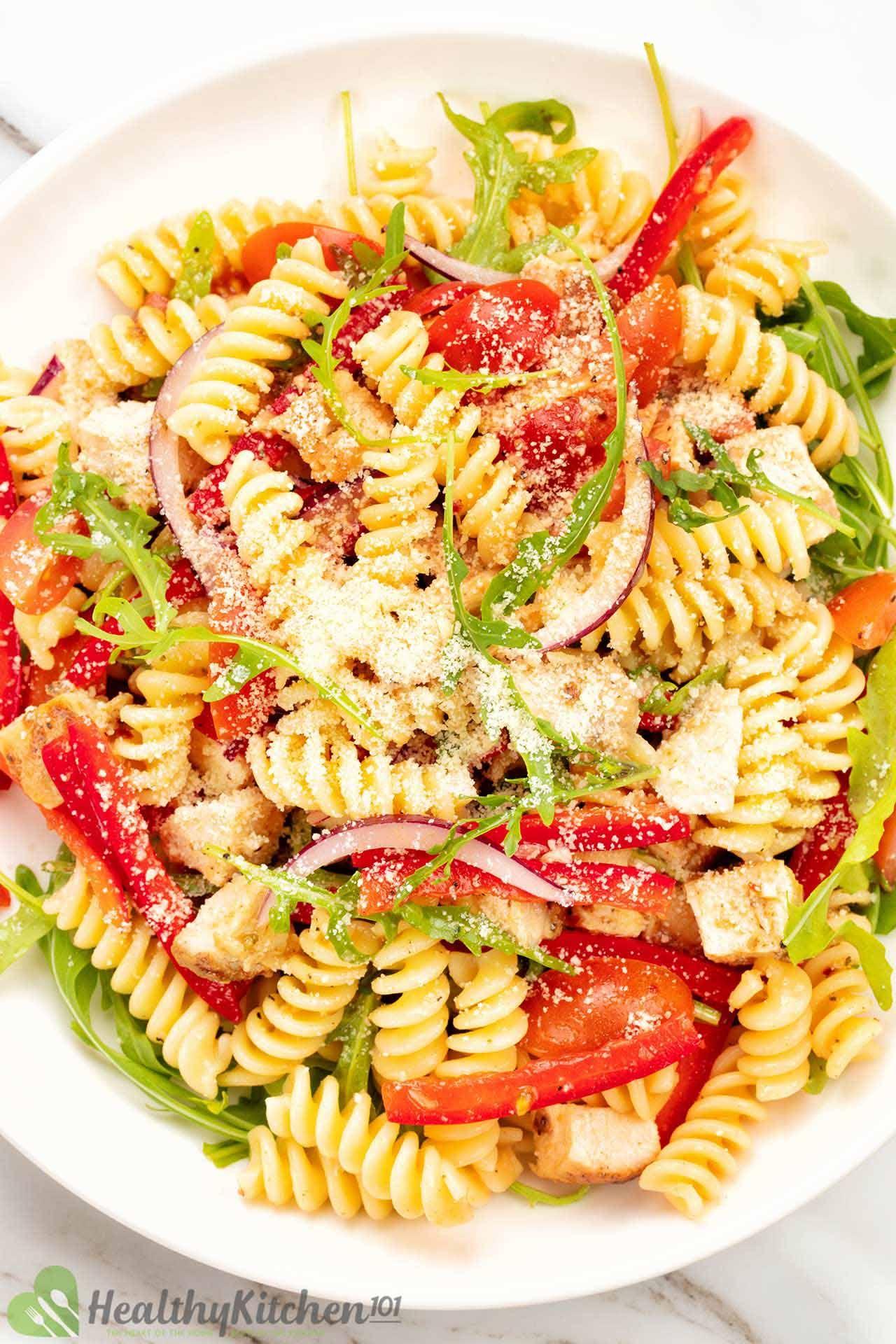 homemade chicken pasta salad recipe