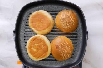 step 6: Sear the buns