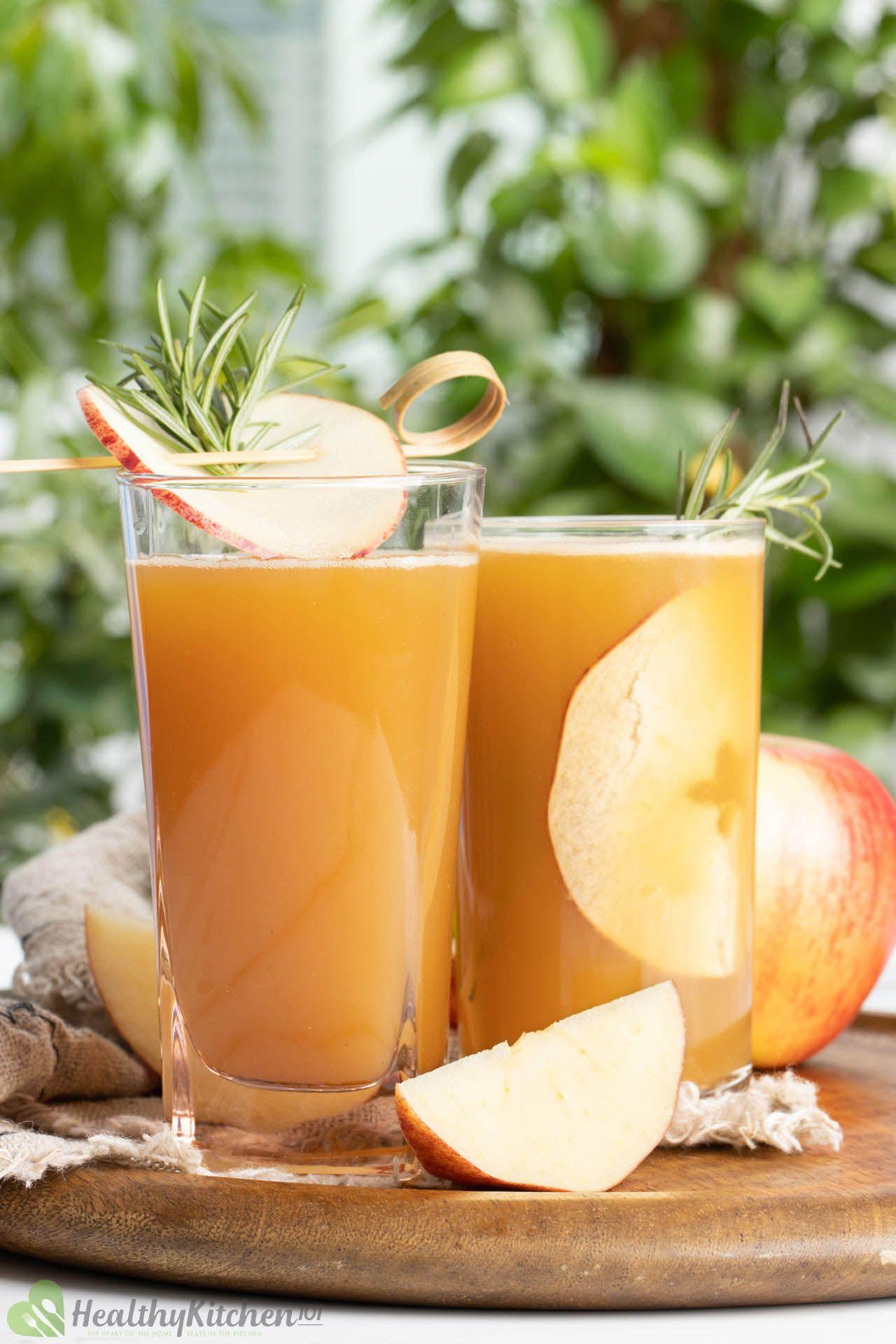 sugar-free apple juice recipe