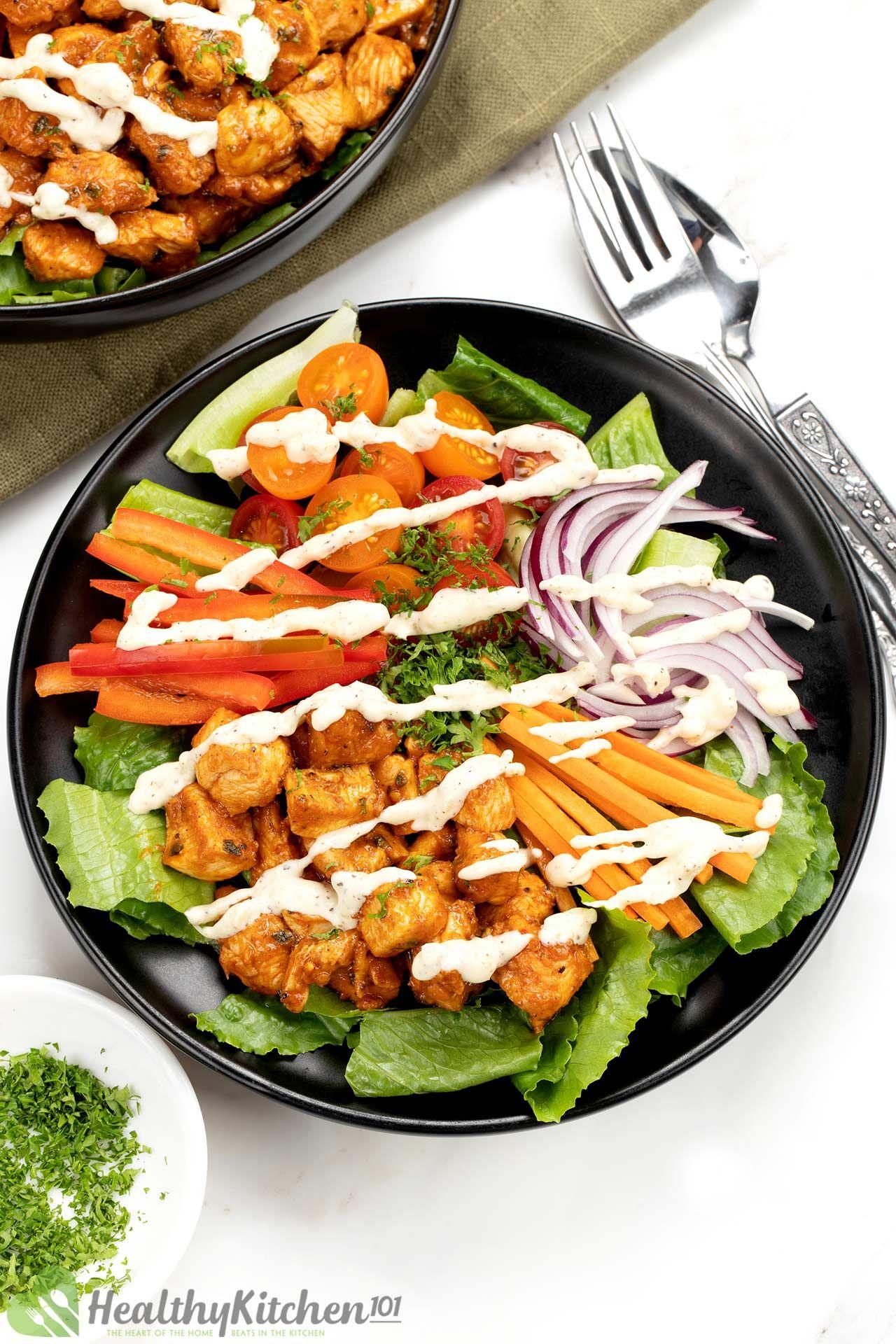 Homemade Buffalo Chicken Salad Recipe