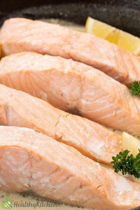homemade poached salmon recipe