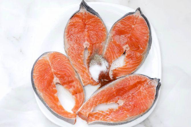 season the salmon