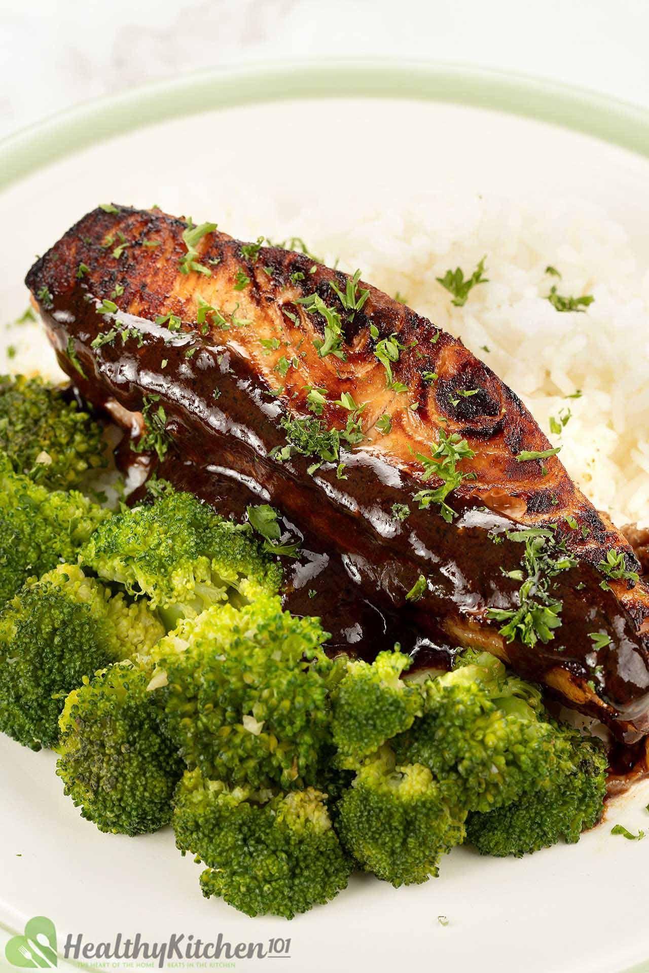 is maple glazed salmon healthy
