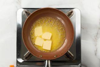 step 3: Melt the butter