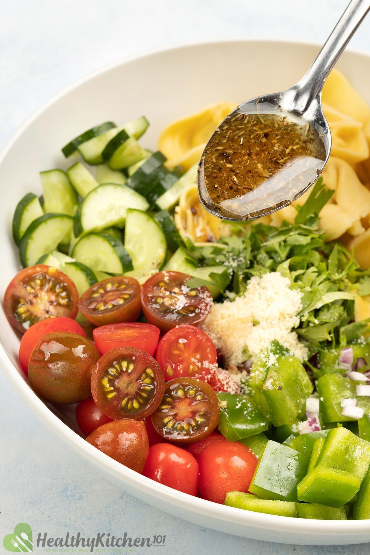Dressing for Tortellini Salad Recipe