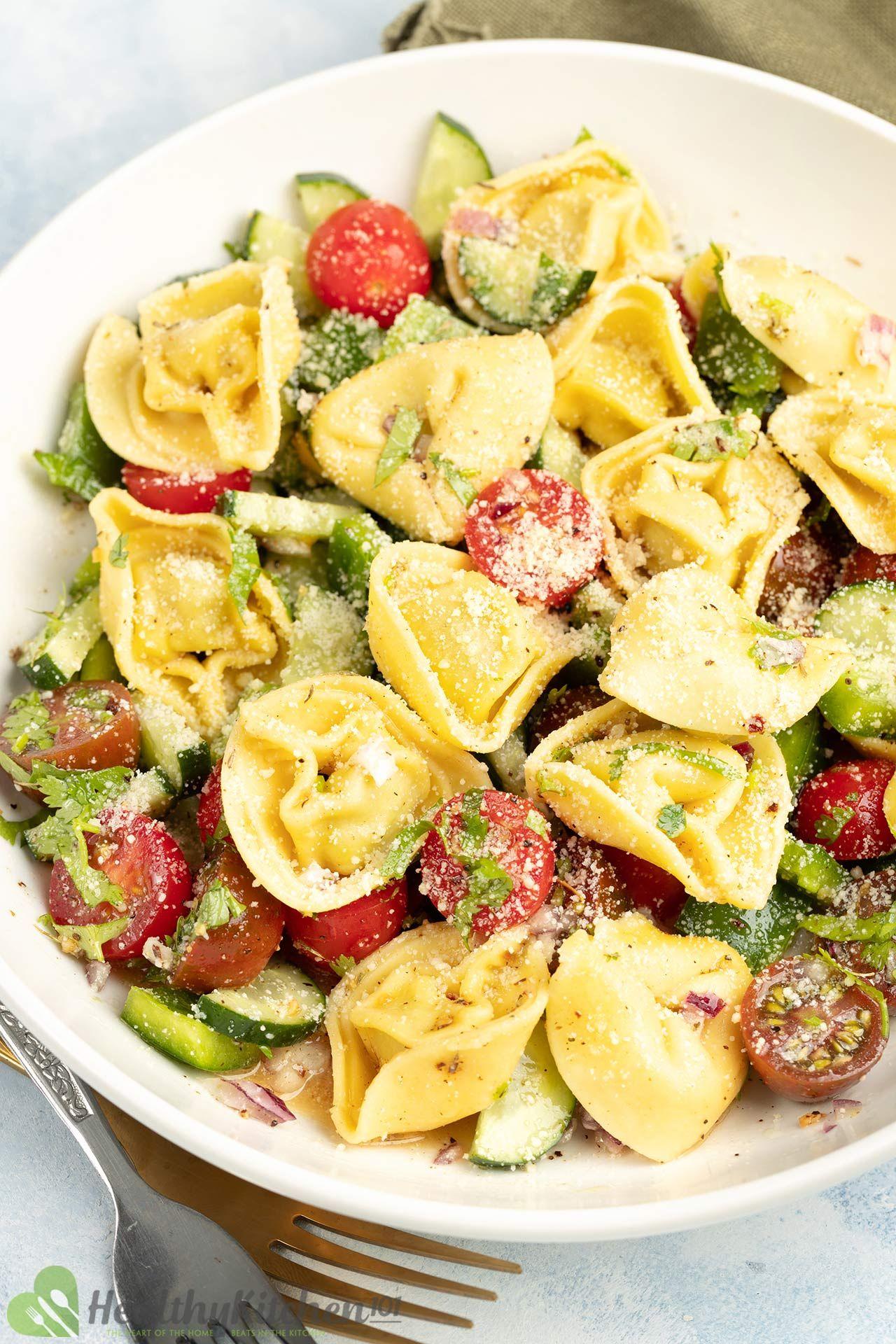 Homemade Tortellini Salad Recipe