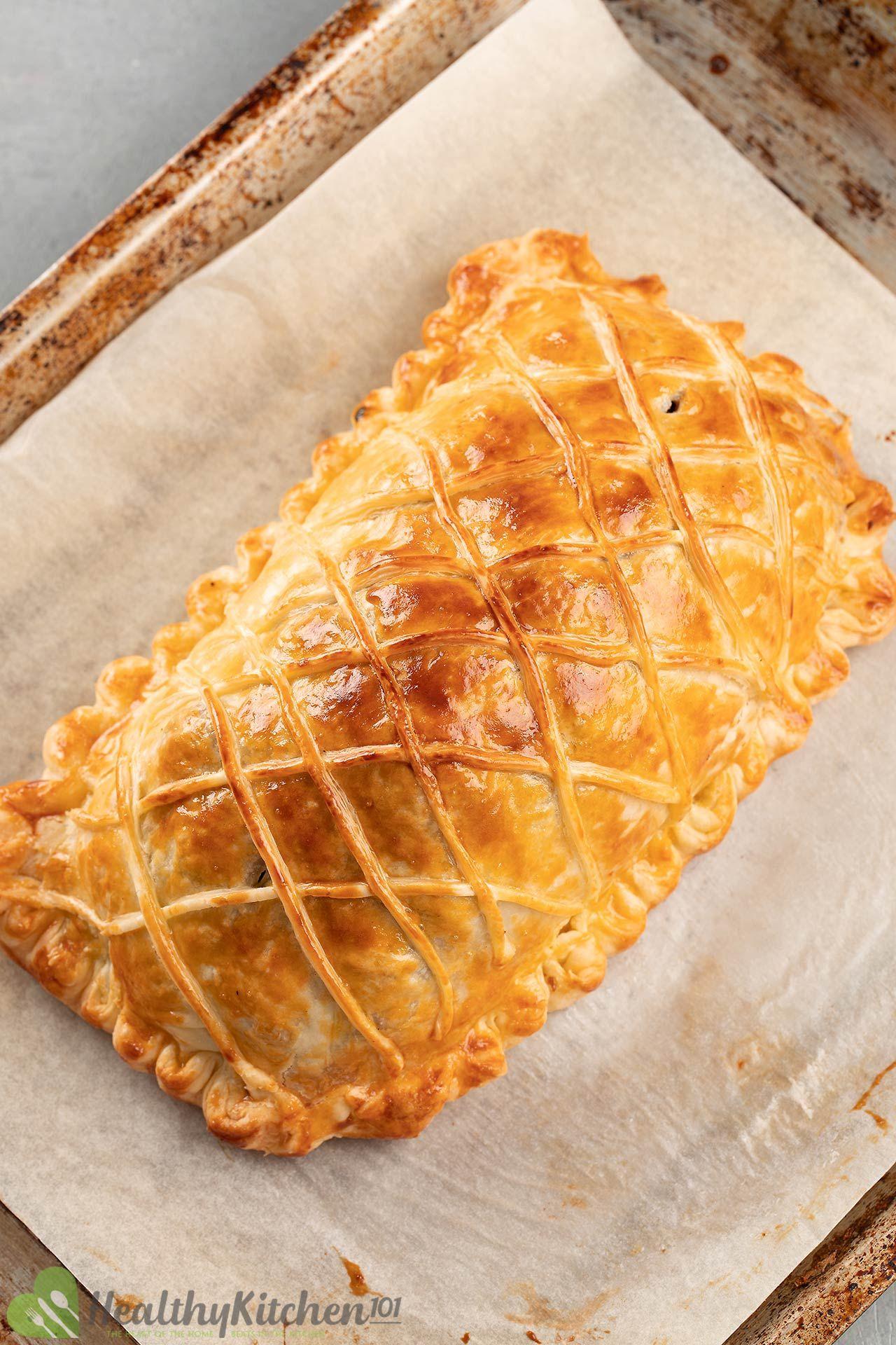 How to make Salmon En Croute Recipe Wellington