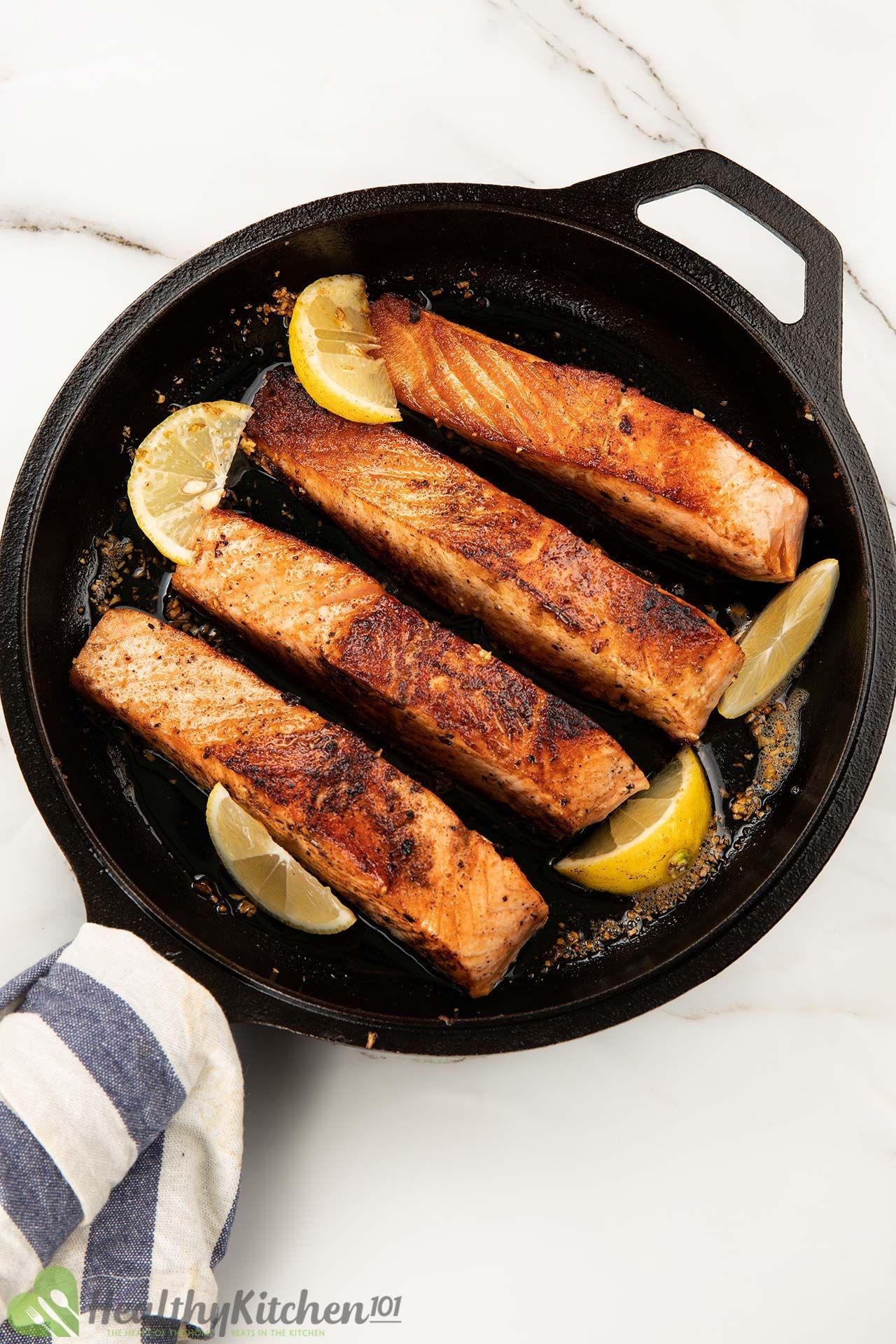 How to season Pan Seared Salmon Recipe