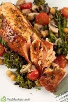 Is Pan Seared Salmon healthy