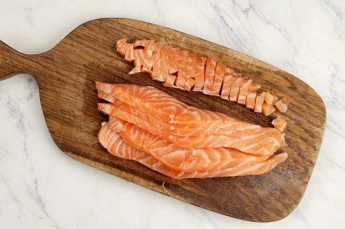 step 3 cut the fish