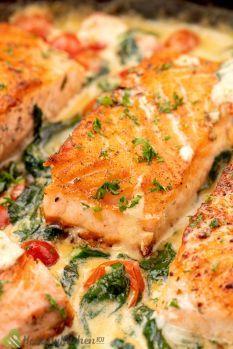 tuscan butter salmon recipe