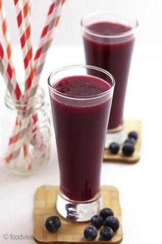 apple blueberry cucumber beet juice