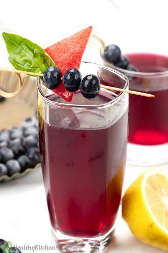 blueberry juice recipes
