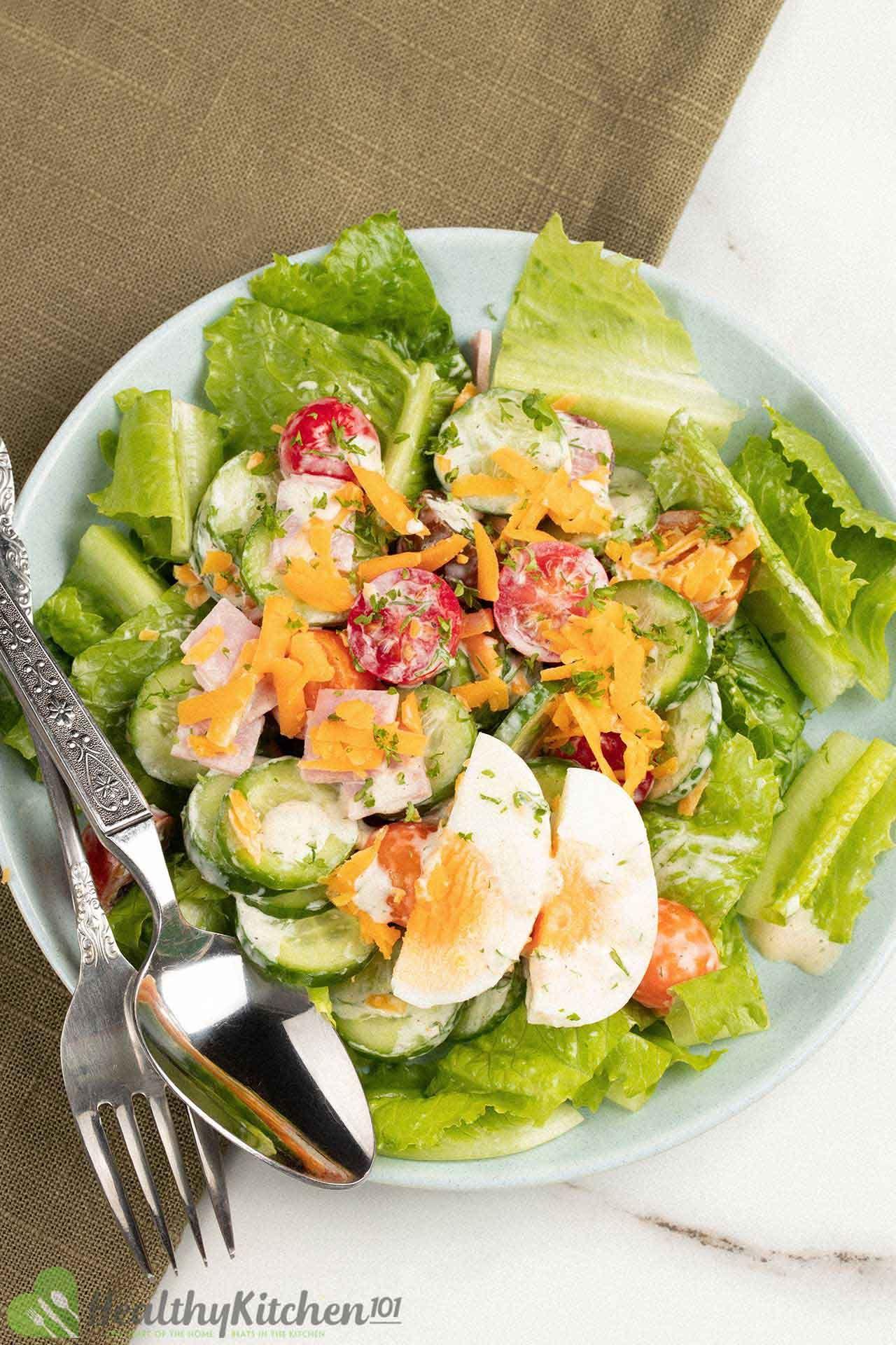 homemade chef salad recipe