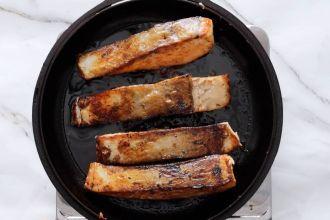 step 4: pan-sear the salmon