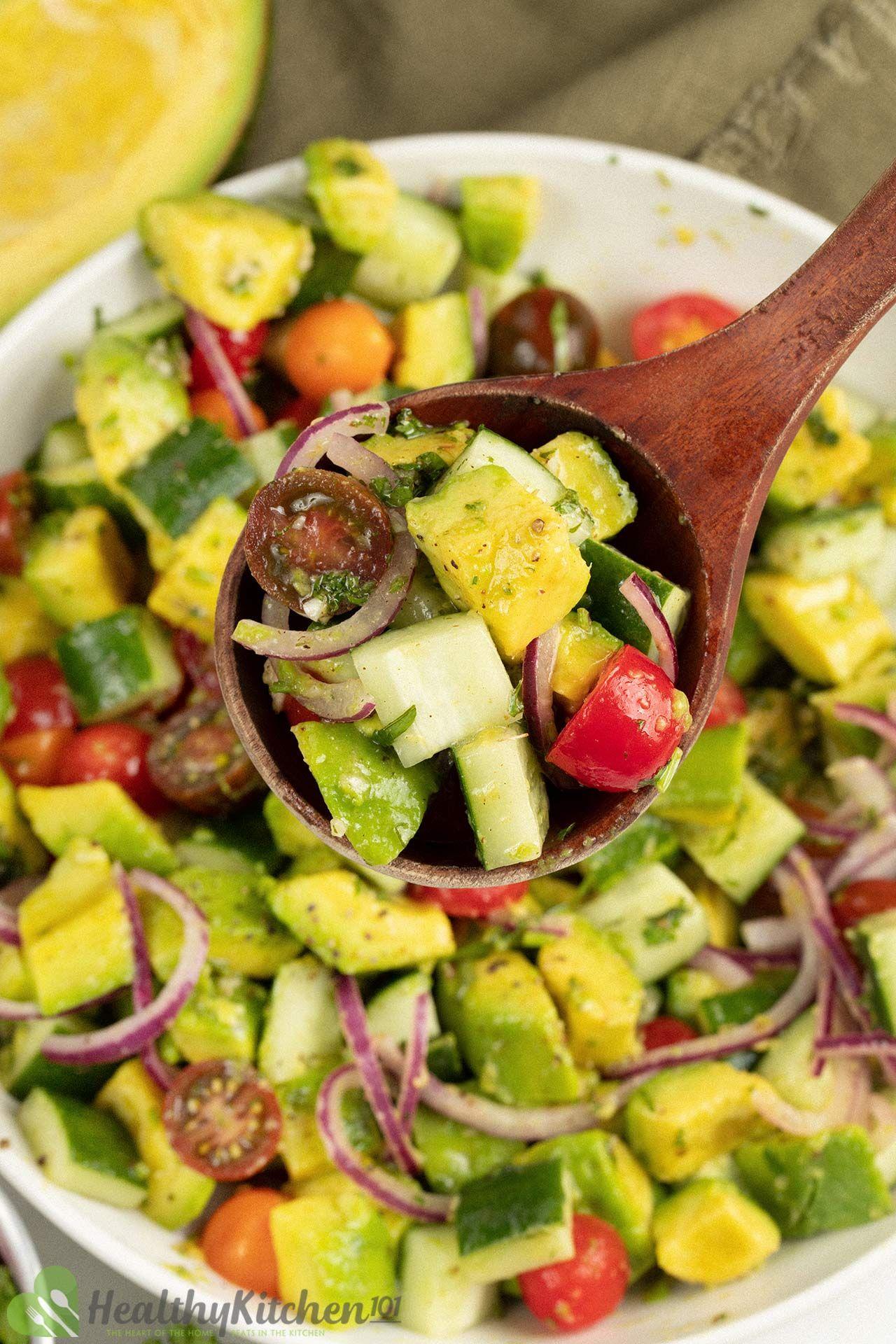 Homemade Avocado Sald Recipe