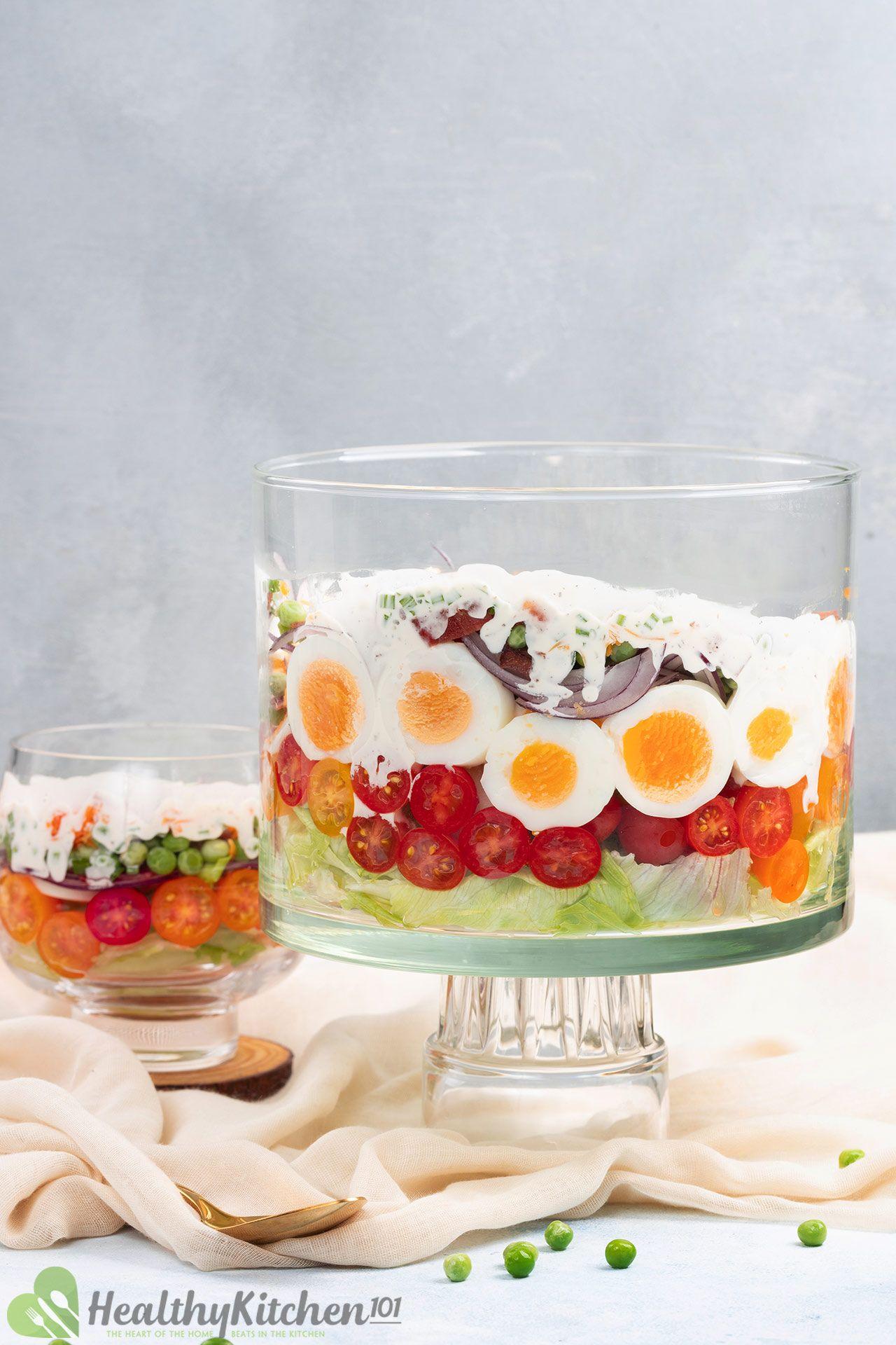 Homemade Seven Layer Salad Recipe