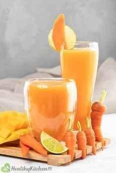 How long does Mango Carrot Juice last