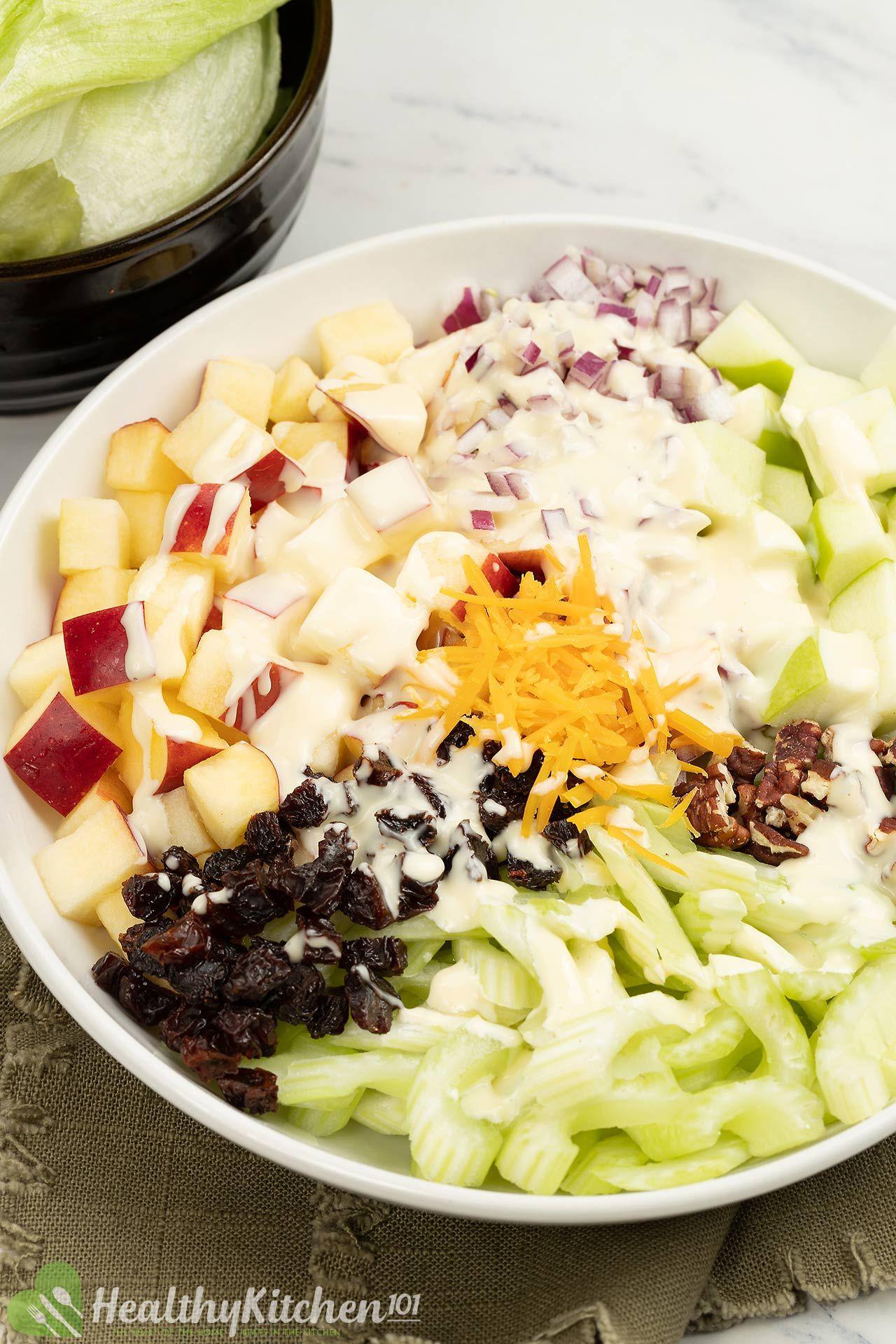 Is Apple Salad Healthy