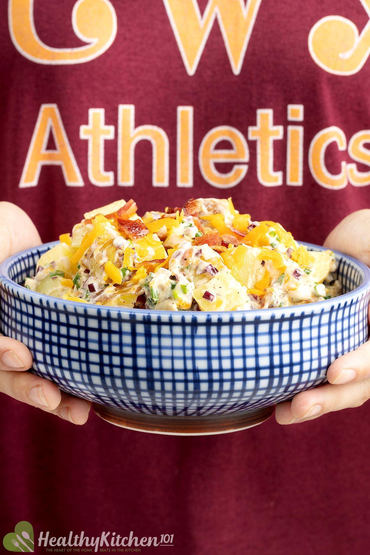 Loaded Potatoes Salad Recipe