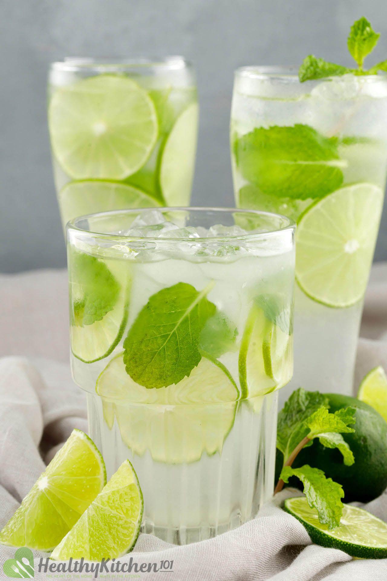 homemade fresh lime juice