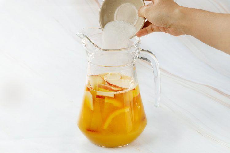 step 2: Mix the liquid