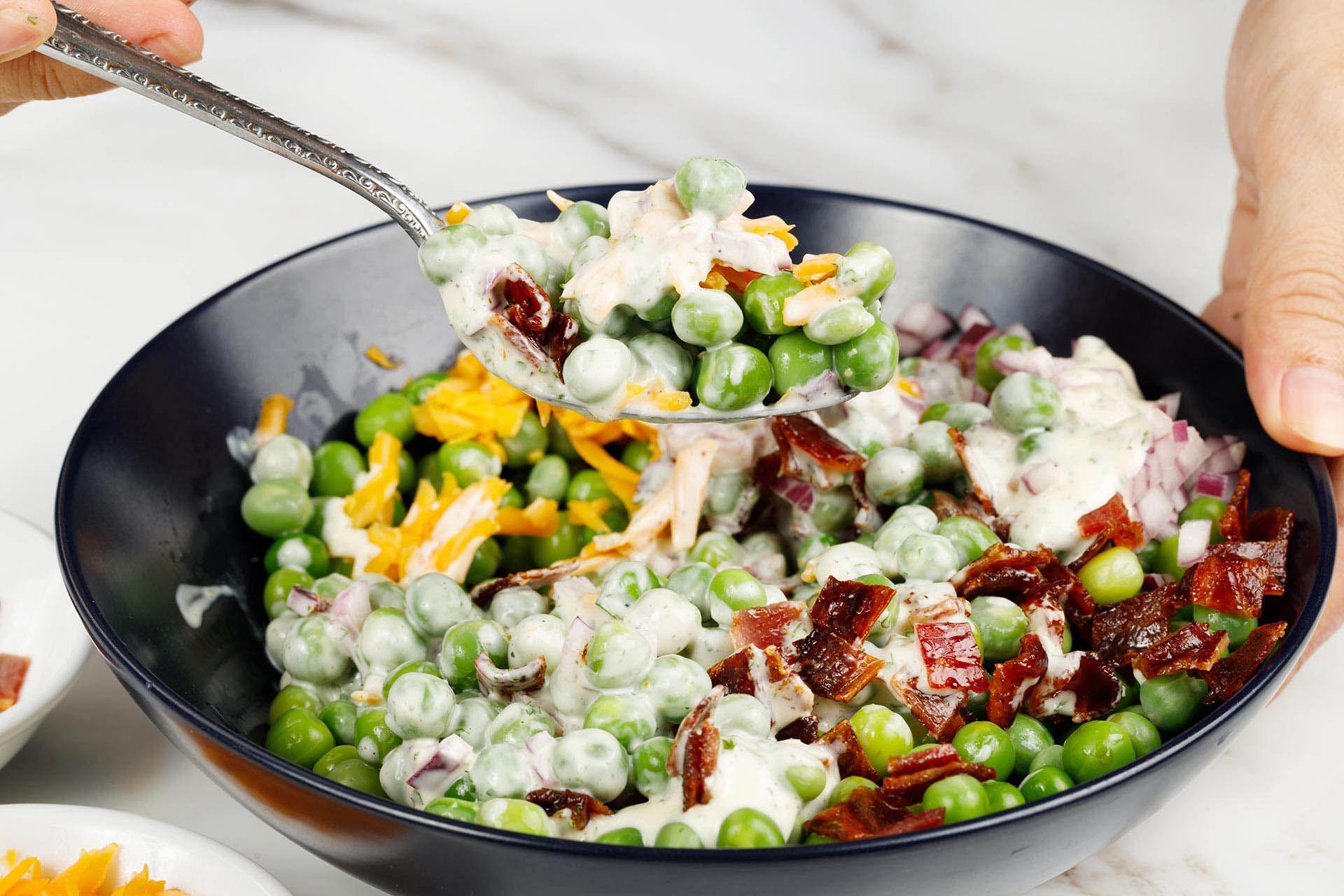 step 3: toss the salad