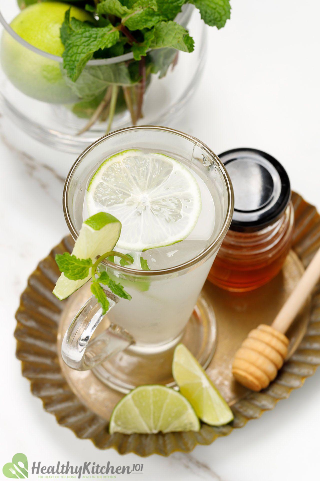 sweetened lime juice recipe