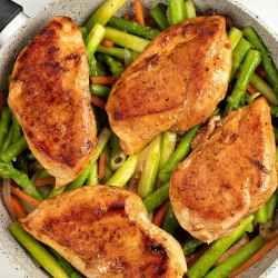 healthy pan seared chicken recipe