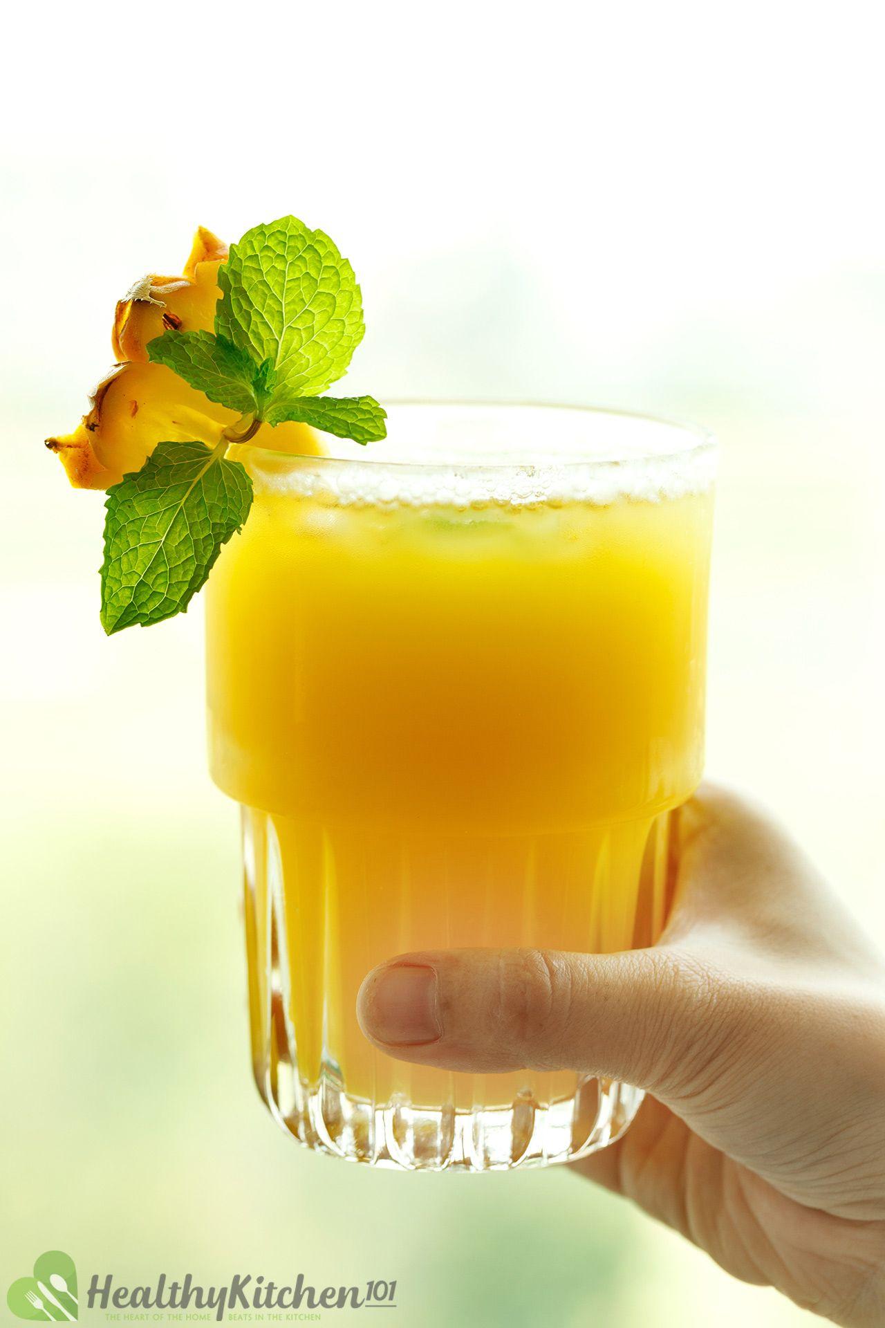 homemade ACV pineapple juice