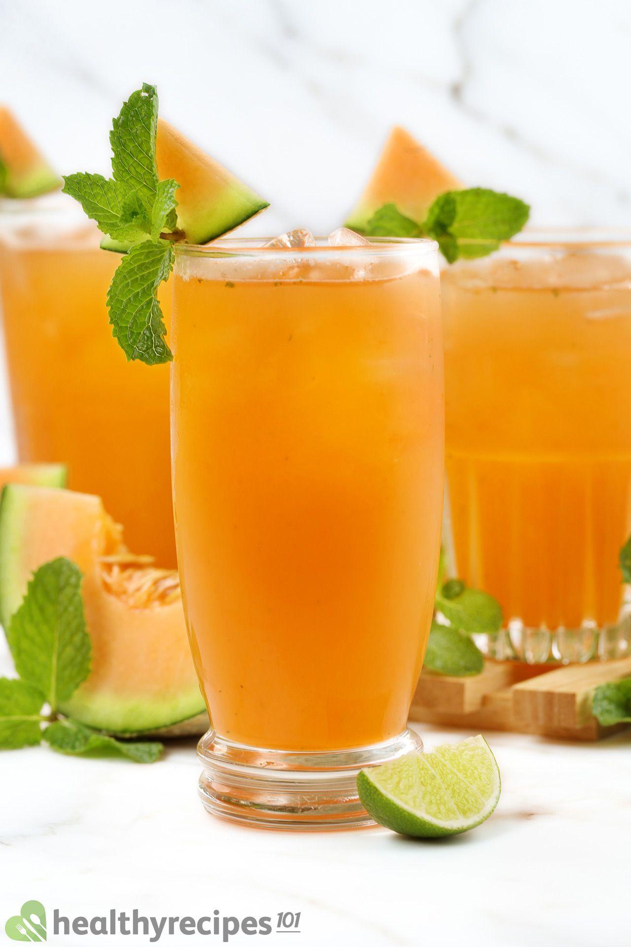 homemade cantaloupe juice recipe