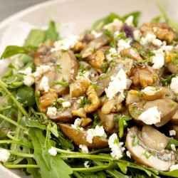 homemade mushroom salad recipe